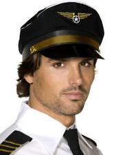 Pilots Cap Occupation Fancy Dress Stag Night Uniform Captain Costume Accessory