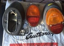 1961 Australia & Italy Only VW Bug Tail Lights Used & NOS combined