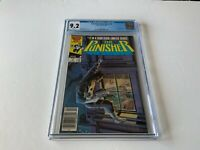 PUNISHER LIMITED SERIES 4 CGC 9.2 WHITE PAGES NEWSSTAND EDITION MARVEL COMICS