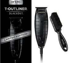 Andis Blackout T-Outliner Limited Edition Hair Trimmer 05110 + Andis Blade Brush
