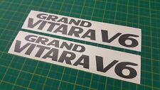 Suzuki Grand Vitara V6 decals stickers graphics Side restoration replacement