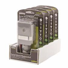 Lot of 4 - TORK 120-Volt LED/CFL Swivel Mount Photo Control