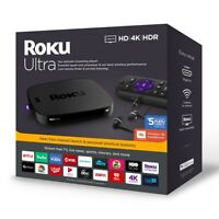 Roku Ultra 4670RW 4K HDR Streaming Player with Remote Control