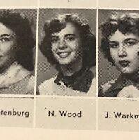 Robert Redford Don Drysdale Natalie Wood High School Yearbook 1953