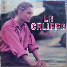 MORRICONE ENNIO LA CALIFFA COLONNA SONORA FILM LP 1971 ITALY