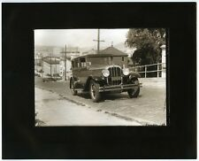 """1928 CHANDLER TOURING CAR AUTOMOBILE on STEEP HILL in SAN FRANCISCO~8""""x10"""" PHOTO"""