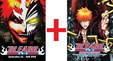 ANIME DVD~ENGLISH DUBBED~Bleach(1-366End+4 Movie)FREE DHL EXPRESS SHIPPING