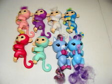 Fingerling Lot Of 8 Assorted Battery Operated Finger Puppets - Clean & Euc