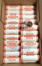 ** 2012-D Denali Quarter Coin Bank-Wrapped Uncirculated Roll 40  - FREE SHIP **