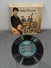 Disque 45 Tours - Gene Vincent & His Blue Caps - EAP 1 - 811 - Part 1 (VG / TBE)