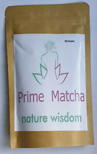 Matcha Green Tea prime matcha 100% Natural Organic Grade A UK Seller***** 50 gr