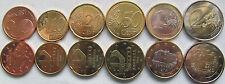 "Andorra set of 6 coins 2014 ""5+10+20+50 cents +1+2 euro"" UNC"