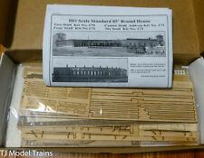American Model Builders HO #170 85' Wood Roundhouse