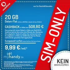 NUR GESCHÄFTSKUNDEN: Vodafone Red Data XL Vertrag 20GB LTE nur 9,99 €