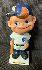 Vintage 1961-1963 White Base New York Yankees Baseball Bobblehead Nodder