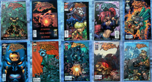 Battle Chasers (1998) Prelude, Issues #1-9 HIGH GRADE LOT