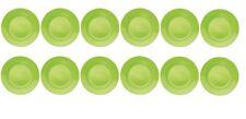 12x melamina vassoio,melaminteller,piatti,Piatto per bambino,profondo & in verde