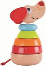 Hape PEPE SOUND STACKER Pre-School Young Children Wooden Toy Game BN