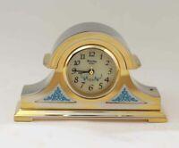 Bulova Miniature Grafton Clock B0548 Solid Brass