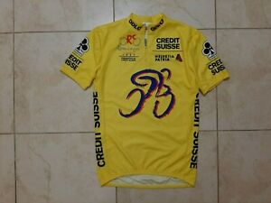Rominger Classic 1997 Cycling Shirt XL ODLO Yellow Colnago Camiseta Cycle