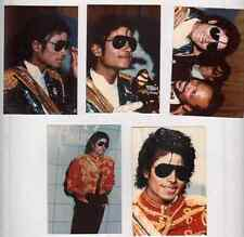 """MICHAEL JACKSON x  5 ORIGINAL PHOTOS  5"""" X 3 1/2"""" , AWARDS"""
