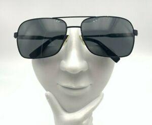 Tumi Capilano Black Metal Aviator Sunglasses Japan FRAMES ONLY
