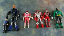 Mighty Morphin Power Rangers and Assorted Action Figures Lot of 6