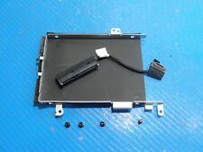 "Dell Latitude E5570 15.6"" Genuine Hdd Hard Drive Caddy w/ Connector Screws Vx90N"