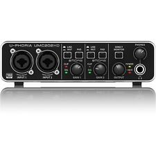 Behringer U-PHORIA UMC202HD USB Audio Home Studio Vocal Recording Interface