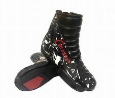 Stivali Minimoto Scarpette in Pelle Con Protezioni TG 31 32 34 35 36 37 38 39