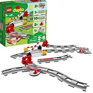 LEGO DUPLO Train Tracks My First Building Bricks Preschool Boys Toy Set Box New