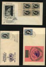 Pitcairn, Sarawak, Solomon Islands 1953 coronation covers Ms0908