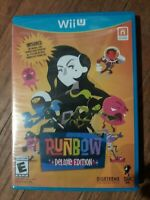 Runbow Deluxe Edition Nintendo Wii U Factory Sealed   Free Shipping!
