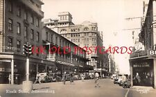 South Africa -  JOHANNESBURG, Rissik Street,  Real Photo.