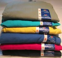 Men's T-Shirt Fruit of The Loom 3XL 6 Pc lot 6 colors 100 % Cotton Royal Navy