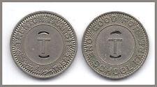 1952 TRENTON TRANSIT TOKEN COIN RARE EXONUMIA NEW JERSEY TREASURER FE MATTHEWS