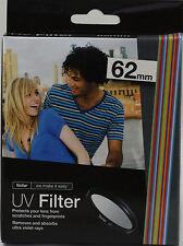 Vivitar UV 62MM Filter Multi Coated For sony 18-200mm 18-250mm nikon 70-300mm G