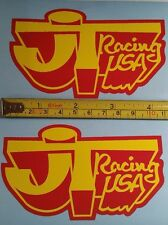 JT Racing sticker Vintage Fox Honda Yamaha 125 250 360 400 465 Old School VMX YZ