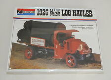 Vintage MONOGRAM 1926 MACK BULLDOG LOG HAULER TRUCK MODEL KIT SEALED R11862