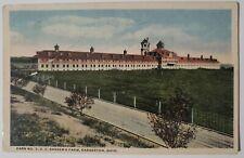 Vintage Postcard Barn 3 on O.C.Barbers Anna Dean Farm Barberton Ohio