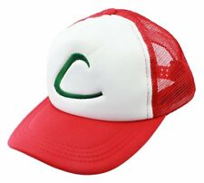 Anime Pokemon ASH KETCHUM trainer costume cosplay Hat Cap Kid Xmas Gift Classic