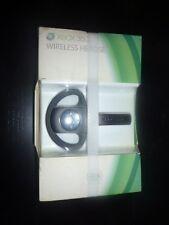 Wireless Headset - Black (Xbox 360) NEW SEALED