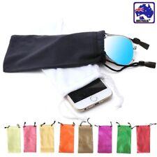 10pcs Soft Sunglasses Eyeglass Pouch Reading Glasses Case Bag Candy JGBAG 18
