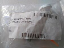 New DEUTSCH D38999/20FD18SN Connector, sealed, no backshell