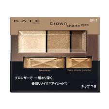 [KANEBO KATE] Brown Shade Eyes N BR-1 NEUTRAL BROWN Eyeshadow Palette JAPAN NEW
