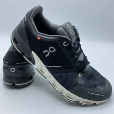 On Cloud Mens Cloudflyer Black Running Shoes Size 10 Medium (688450)