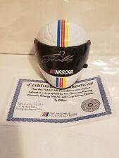 Ty Dillion Signed NASCAR Germain Racing Monster Energy Mini-helmet NASCAR COA