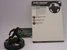 HEROCLIX AVENGERS DEFENDERS WAR - #007 Black Panther *C*