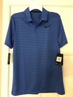 Nike Drifit Polo Mens Small Blue New With Tags