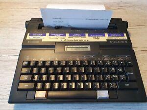 Canon Typestar 2 II Portable Electronic Typewriter